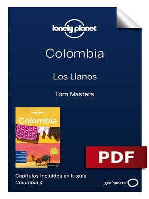 cover image of Colombia 4_9. Los Llanos