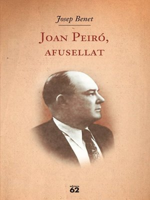 cover image of Joan Peiró, afusellat