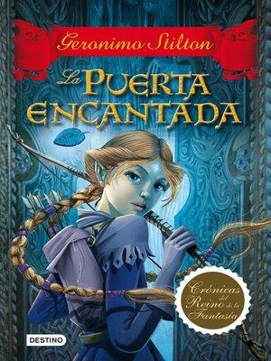 cover image of La puerta encantada