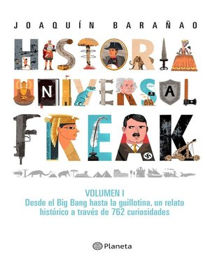 cover image of Historia universal freak