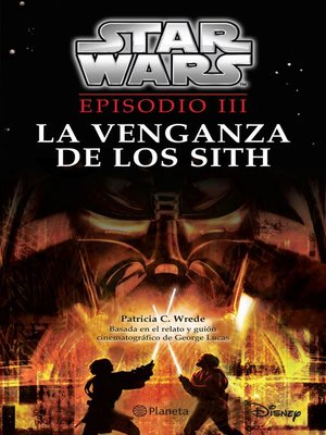 cover image of Star Wars. Episodio III. La venganza de los Sith