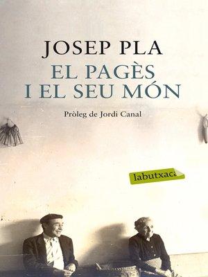 cover image of El pagès i el seu món