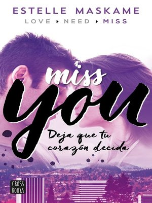 cover image of Miss you