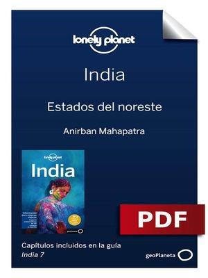 cover image of India 7_14. Estados del noreste