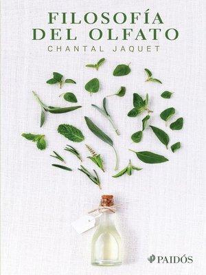 cover image of Filosofía del olfato