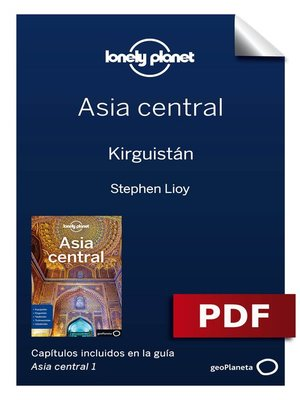 cover image of Asia central 1_2. Kirguistán