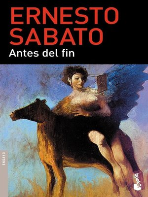 cover image of Antes del fin