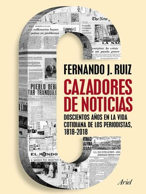 cover image of Cazadores de noticias