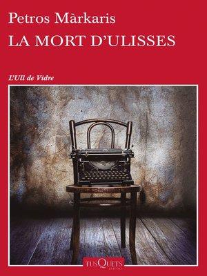 cover image of La mort d'Ulisses