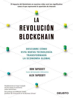 cover image of La revolución blockchain