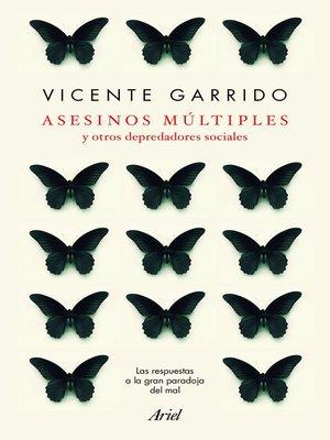 cover image of Asesinos múltiples y otros depredadores sociales