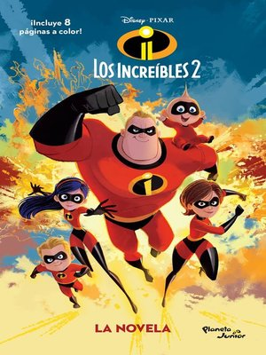 cover image of Los Increíbles 2. La novela
