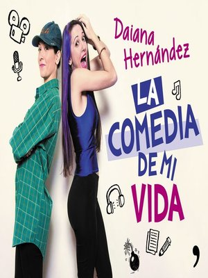cover image of La comedia de mi vida