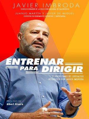 cover image of Entrenar para dirigir