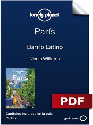 cover image of París 7_9. Barrio Latino
