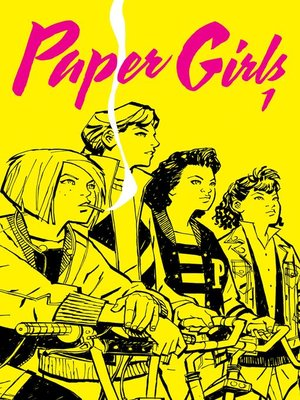 cover image of Paper Girls, nº01