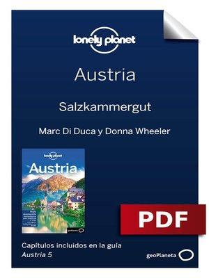 cover image of Austria 5. Salzkammergut