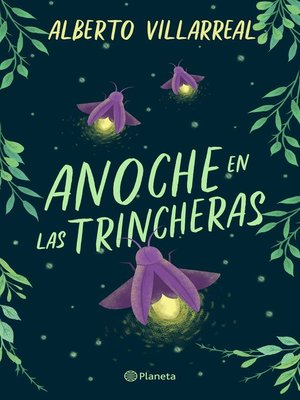 cover image of Anoche en las trincheras