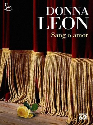 cover image of Sang o amor