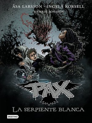 cover image of Pax. La serpiente blanca