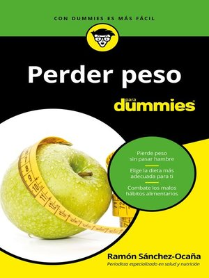 cover image of Perder peso para Dummies