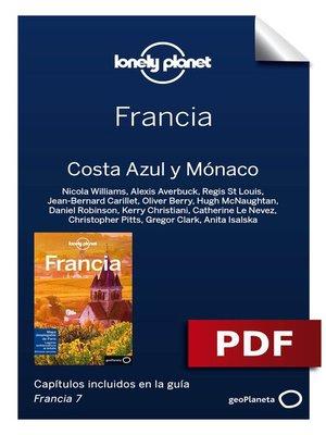 cover image of Francia 7. Costa azul y Mónaco