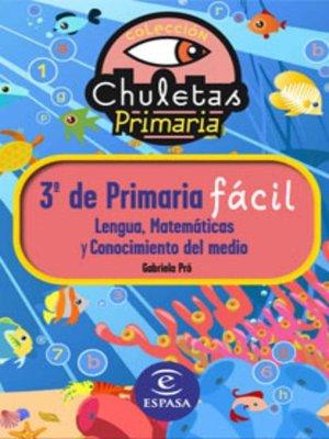 cover image of Chuletas para 3º de Primaria