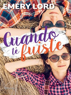cover image of Cuando te fuiste