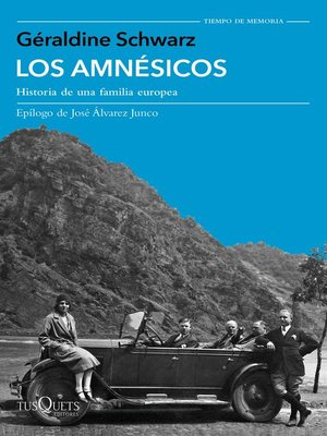cover image of Los amnésicos