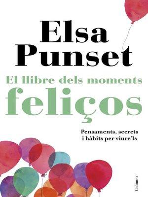 cover image of El llibre dels moments feliços