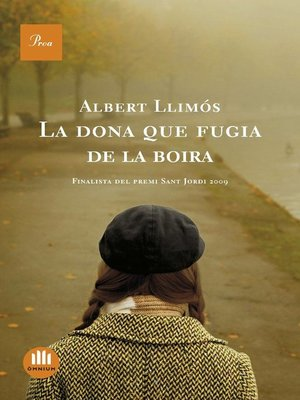 cover image of La dona que fugia de la boira