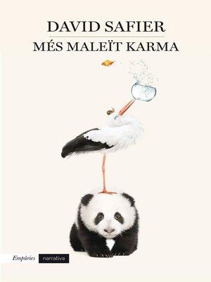 cover image of Més maleït karma