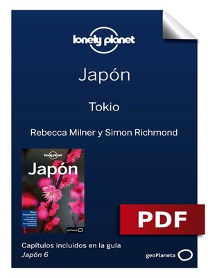 cover image of Japón 6. Tokio