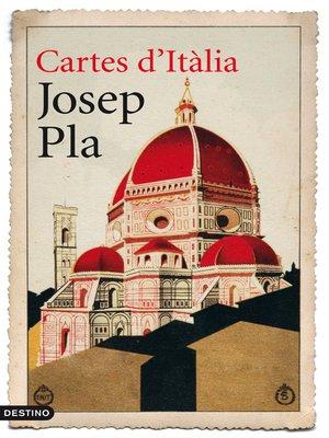 cover image of Cartes d'Itàlia