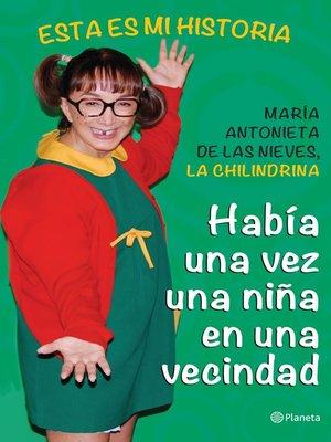 cover image of Había una vez una niña en una vecindad