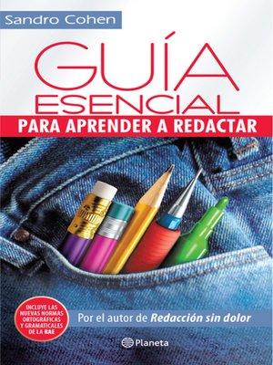 cover image of Guía esencial para aprender a redactar