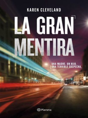 cover image of La gran mentira