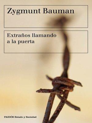 cover image of Extraños llamando a la puerta