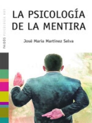 cover image of La psicología de la mentira