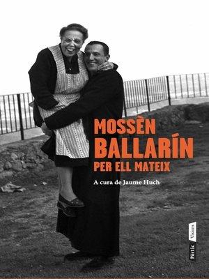 cover image of Mossèn Ballarín per ell mateix