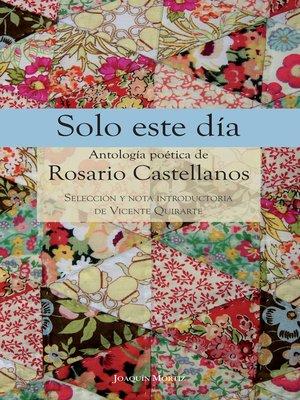 cover image of Solo este día