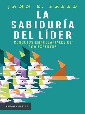 cover image of La sabiduría del líder
