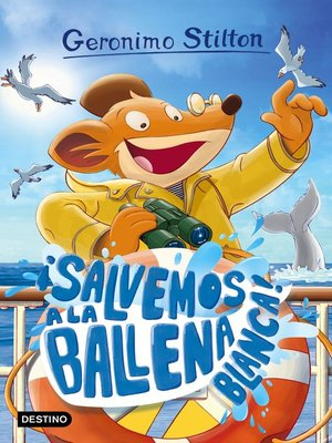 cover image of ¡Salvemos a la ballena blanca!