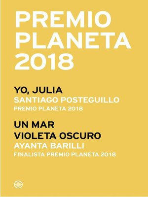 cover image of Premio Planeta 2018