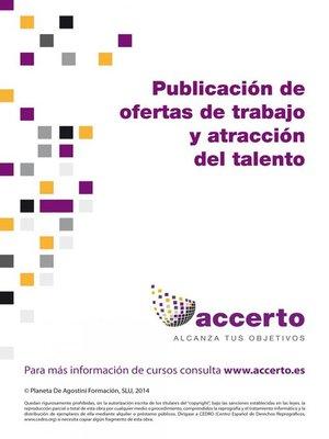 cover image of Publicación de ofertas de trabajo y atracción del talento
