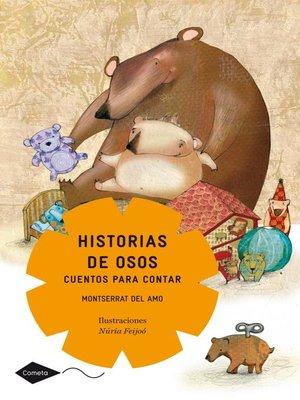 cover image of Historias de osos. Cuentos para contar