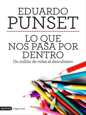 cover image of Lo que nos pasa por dentro