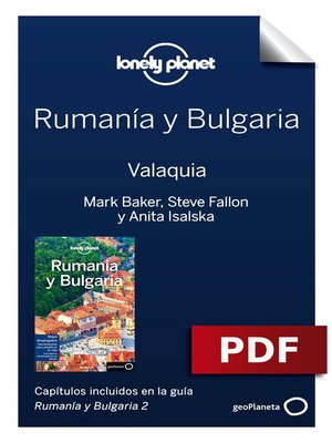 cover image of Rumanía y Bulgaria 2.  Valaquia