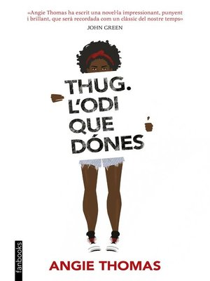 cover image of Thug. L'odi que dónes