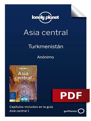 cover image of Asia central 1_6. Turkmenistán